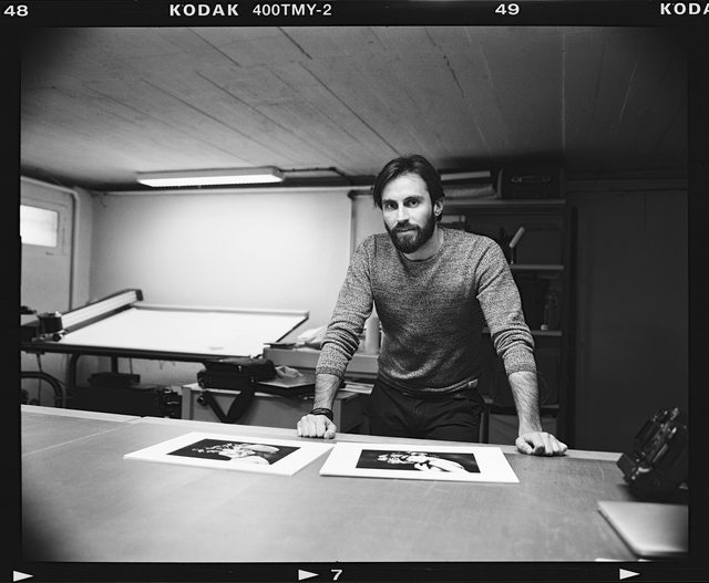 Lorenzo Mancini, ambassadeur Piezography Pro - Art Photo Lab